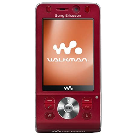 Comparer SONY ERICSSON W910 ROUGE