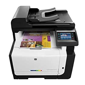Hewlett Packard Equipo Multifuncion Laser Color Laserjet Cm1415Nfw Mfp A4 12Ppm Ethernet Usb Wifi Wireless 1200X600Dpi Copiadora Escaner Color Fax Impresora 1 Año Garantía