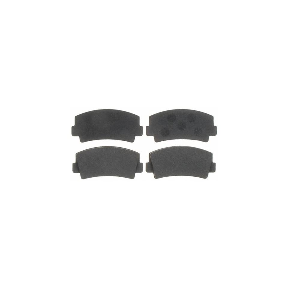 ACDelco 17D76 Front Brake Disc Pad Kit