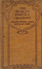 The World's Famous Orations Volume V, Great…