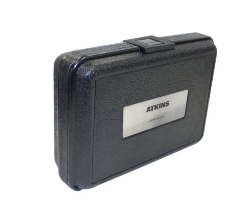 Cooper-Atkins-14240-Durable-Plastic-Hard-Carrying-Case-with-label-and-Handle-Small