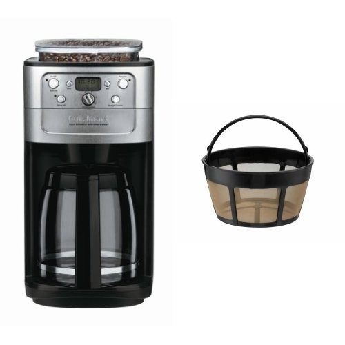Cuisinart Grind And Brew Coffee Maker Dgb 700bc : Cuisinart DGB-700BC Grind-and-Brew 12-Cup Automatic Coffeemaker and Filter Bundle Coffee Outlet Di