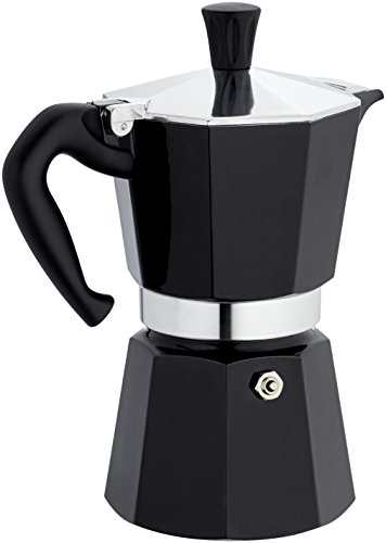 Bialetti: Moka Express 6-Cups BLACK lacquered [ Italian Import ]