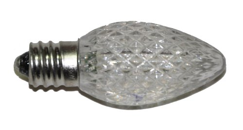 12 Volt Slow Color-Changing Replacement Led Bulb Faceted Finish