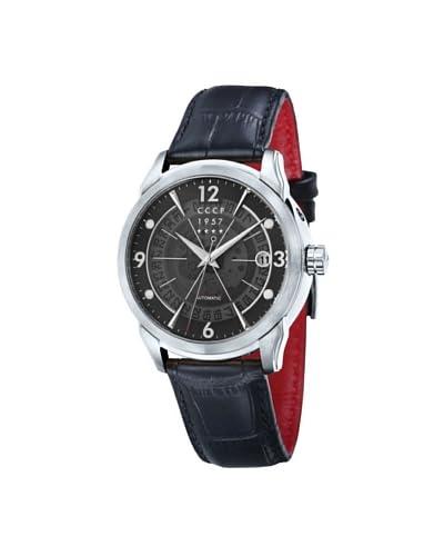 CCCP Men's Sputnik 1 Cp-7001-01 Black Stainless Steel Watch