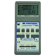 B&K Precision 885 Synthesized In-Circuit LCR/ESR Meter with SMD Probe, 10kHz Max Test Frequency