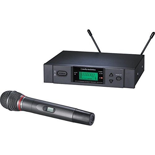 Audio Technica Atw 3141B Uhf Wireless Handheld Mic System