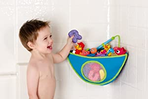 Munchkin Corner Bath Organizer - Assorted colors Blue
