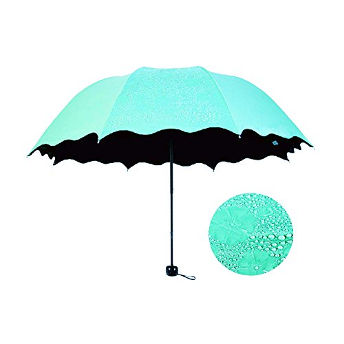 honeystore lace travel parasol twice folding anti uv. Black Bedroom Furniture Sets. Home Design Ideas