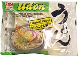 Udon Japanese Style Noodles with Soup Base - Oriental Flavor