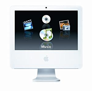 "Apple iMac G5 Desktop with 17"" MA063LL/A (1.9 GHz PowerPC G5, 512 MB RAM, 160 GB Hard Drive, SuperDrive)"
