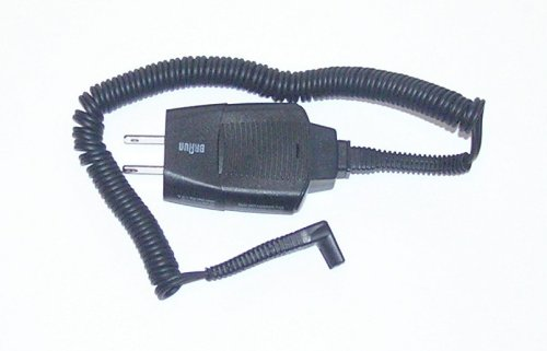 Braun Pulsonic Shaver Charger Cord For Models 760Cc, 790Cc, 9585, 9595, 9785, 9795