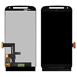 LCD Screen Touch Digitizer Assembly For Motorola Moto G2 2nd XT1068 XT1063 XT1064 Black+ Tools