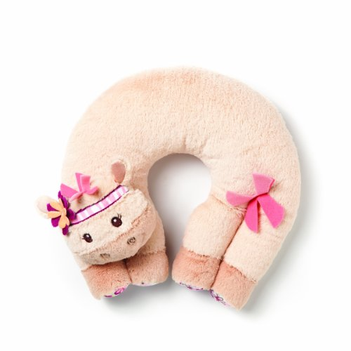 Brown Horse Animal Infant Travel Pillow for Comfortable Sleep Baby Neck Support Pillow by Benbat Newborn Size 0-12 Months