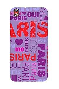 ZAPCASE PRINTED BACK COVER FOR HTC DESIRE 816 - Multicolor