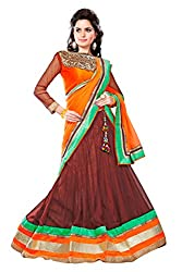 JIYA FASHION NEW DESIGNER LEHENGA MULTY COLORED