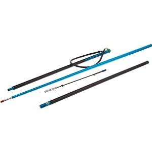 Jbl 7 39 travel three piece polespear 2d84c for Amazon fishing equipment
