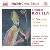 Britten - St Nicolas; Christ Nativity; Psalm 150by Benjamin Britten