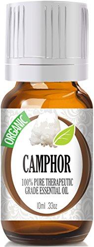 Camphor (Organic) 100% Pure, Best Therapeutic Grade Essential Oil - 10Ml