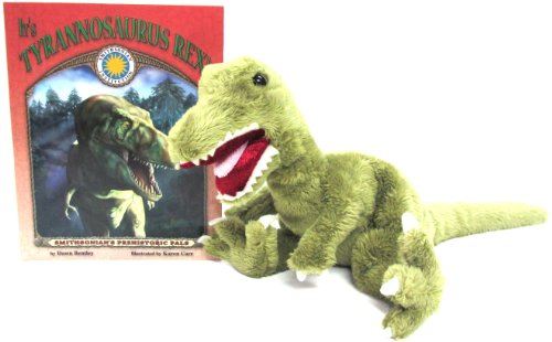 It's Tyrannosaurus Rex! (Prehistoric Pals Book & Toy Set) (Mini book with stuffed toy dinosaur) (Smithsonian's Prehistoric Pals)