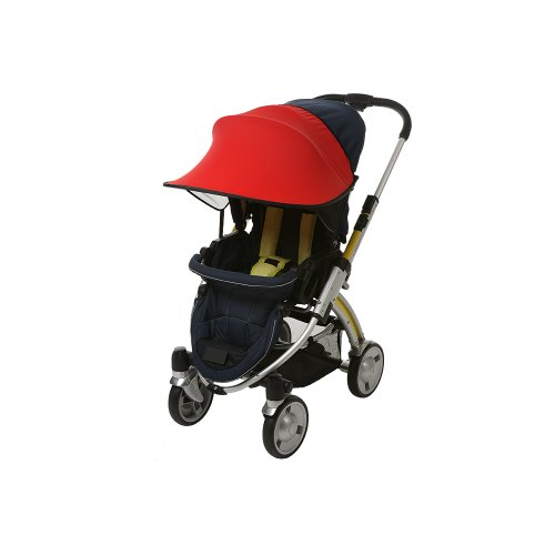 Manito Sun Shade for Strollers and Car Seats - Red (7 Available Colors)
