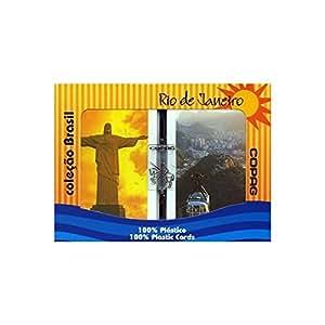 Copag Brazil Rio De Janeiro Plastic Cards - 2 Decks