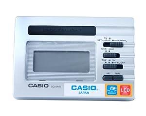 CASIO 10110 DQ-541D-8R - Reloj Despertador digital gris por J.M.Garcia Garcia