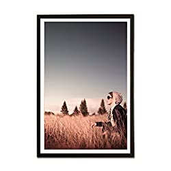 ezyPRNT Quest for Love Framed Poster (Size: 19x13 inch)