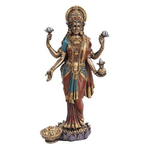 Lakshmi Hindu Goddess Statue Sculpture