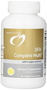 DFH Complete Multi with Copper & Iron 180 Designs for Health