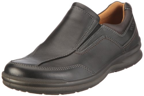 Ecco Remote Black/Coffee Mens Slip-On Size 43M
