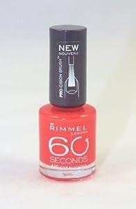 RIMMEL 60 SECONDS NAIL COLOR #430 CORALICIOUS