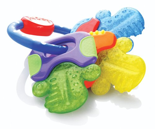 Nuby-Icybite-HardSoft-Teething-Keys