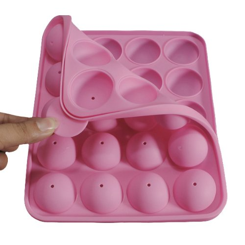 20 Silicone Tray Pop Cake Stick Mould Lollipop Party