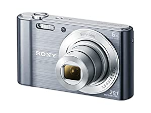 Sony DSC-W810M - 20.1 MP Digital Camera with 6x Optical Zoom - Silver (Certified Refurbished)