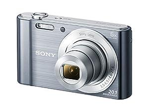 Sony DSC-W810M - 20.1 MP Digital Camera with 6x Optical Zoom - Silver (Certified Refurbished)