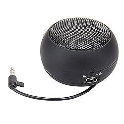 Mini Portable Hamburger Speaker Amplifier for iPod iPad Laptop iPhone Tablet PC Black Black