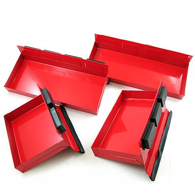 4 Pc. Magnetic Tool Tray Set- 6