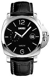 Skmei HMWA05S097C0 Analog Black Dial Mens Watch