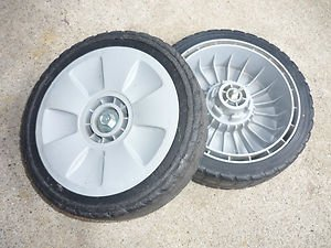 Honda Harmony Lawn Mower OEM Honda FRONT WHEEL SET from Honda