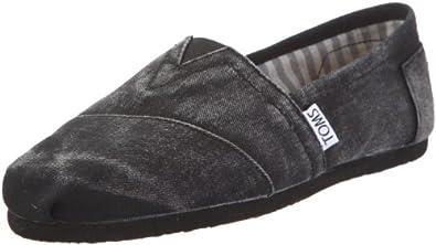 Toms Classic 1087B10, Scarpe sportive donna, Nero (Schwarz/BLK), 37.5