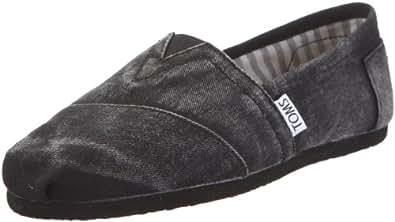 Toms Classic 1087B10, Scarpe sportive donna, Nero, 37.5