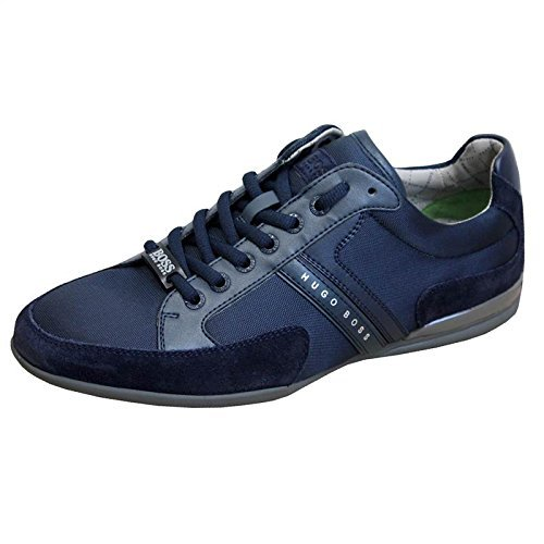 BOSS Green trainer Spacit in Navy 8 thumbnail