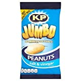 Kp Jumbo Salt and Vinegar Peanuts 180g