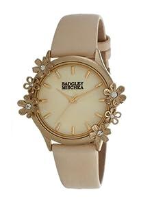 Badgley Mischka Ba-1126cmcr Crystal Accented Ladies Watch