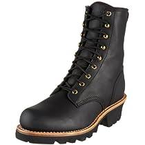 "Big Sale Best Cheap Deals Chippewa Men's 73015 8"" Logger Boot,Black Oiled,9.5 M US"