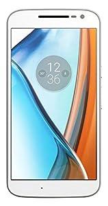 Moto G4 - Smartphone libre Android 6 (Pantalla de 5.5'' Full HD, 4G, cámara de 13 MP, 2 GB de RAM, 16 GB, Qualcomm Snapdragon 1.5 GHz), blanco