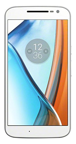 Lenovo Moto G4 Smartphone (14 cm (5,5 Zoll), 16GB, Android) weiß