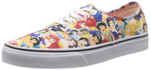 VansU Authentic Disney Sneaker Basse, Uomo, Multicolore (disney/multi Princess), 38.5