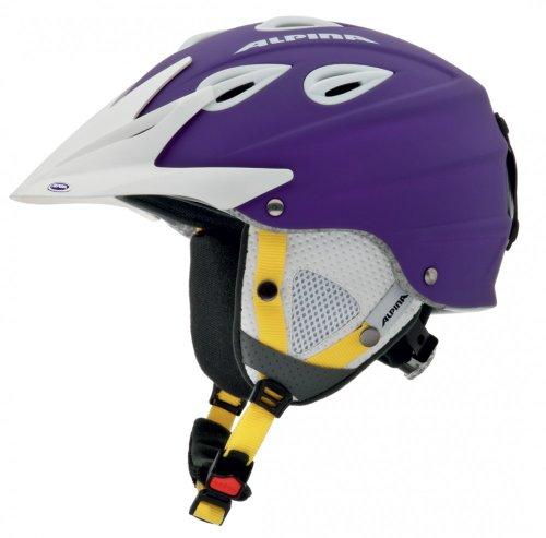 ALPINA Erwachsene Skihelm Grap Cross Violett violett 54-57 Inch